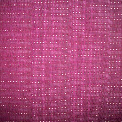 Skirt and scarf Aso Oke, Yoruba, Nigeria, purple indigo cotton, openwork design …
