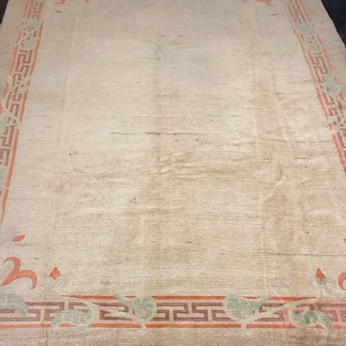 Important Nepal carpet (South Asia, located between India and Tibet) circa 1980.…