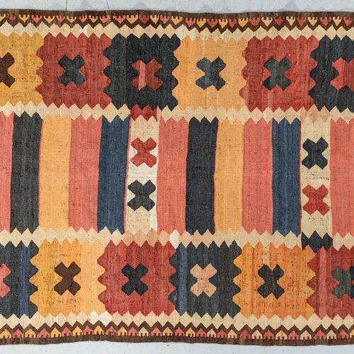 Kilim bidjar (Iran, Loristan region) circa 1960/70.  Dimensions. 350 x 193 cm  T…
