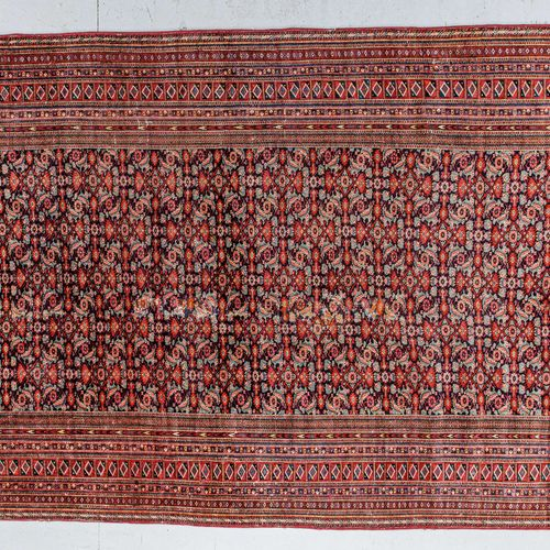 Very original, fine and old Tekke Bukhara (Turkmen) around 1860/1870.  Rare piec…
