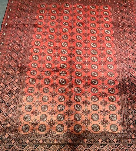 Large Boukhara (Turmen) around 1975.  Dimensions: 300 x 206 cm  Technical charac…