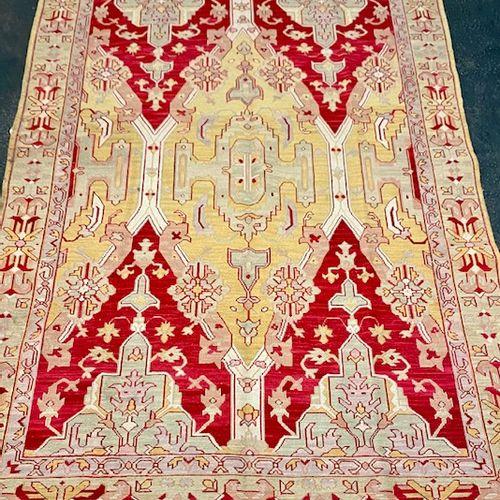 Original and large Soumak (Iran) circa 1970.  Dimensions: 274 x 178 cm  Technica…