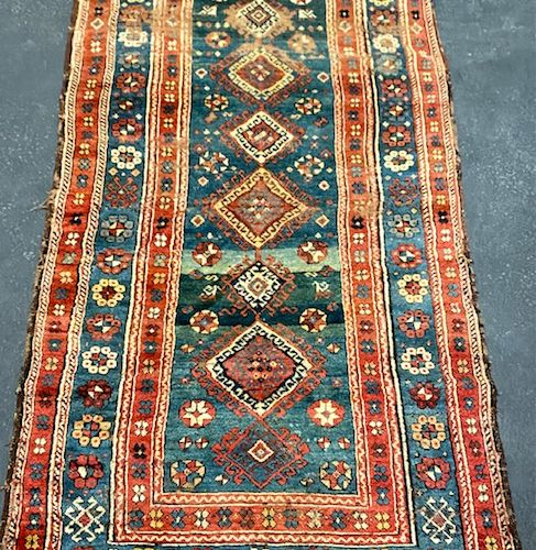 Rare and antique Kziantep (North East Anatolia, Turkey) end of 18th century.  Co…
