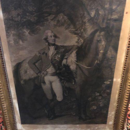 After Thomas GAINSBOROUGH  His Royal Highness, George, Princes of Wales  Engravi…