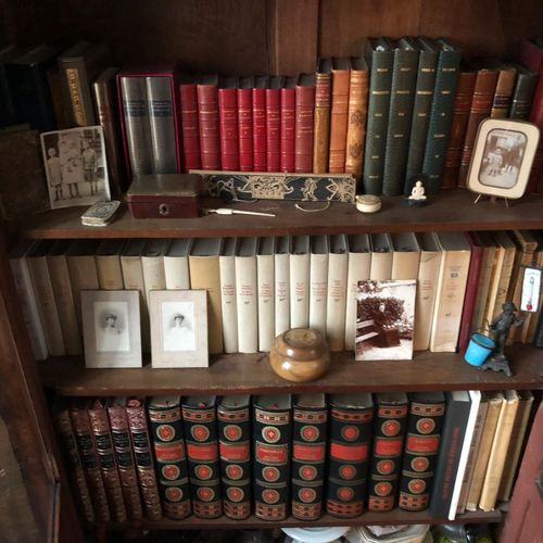 Suite of 19th and 20th century books including 20 volumes of the NRF