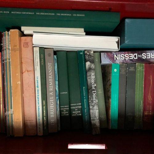 Caisse de beaux livres dont A.DURER, BRUEGEL…