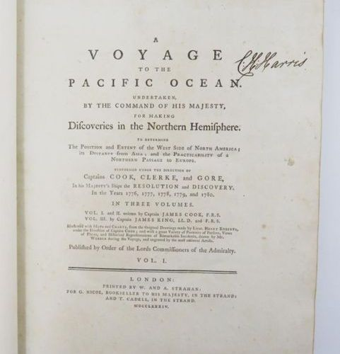 COOK (Captain James) & KING (James). A Voyage to the Pacific Ocean undertaken by…