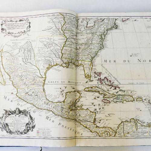 DE L'ISLE (Guillaume) & BUACHE (Philippe). Geographical Atlas of the four parts …
