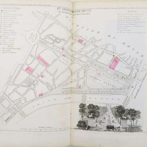 PERROT & MONIN. Picturesque Atlas of the Seine department... Paris, Garnot, 1836…