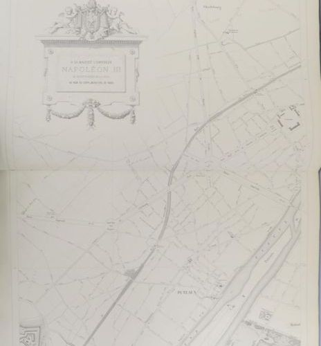 Map of Paris. General map of the city of Paris and its surroundings, including t…