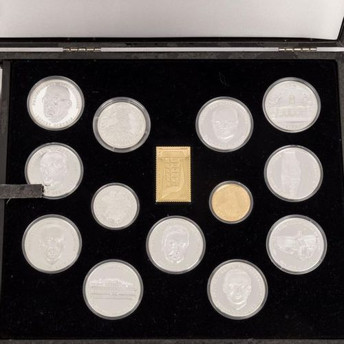 Sammlung GOLD und SILBER 30. Gründungstag der EG Collection GOLD and SILVER 30th…