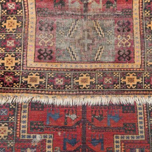 Orientteppich antik. BELUTSCH/NORDOSTPERSIEN, 19. Jh., 142x82 cm. Oriental carpe…