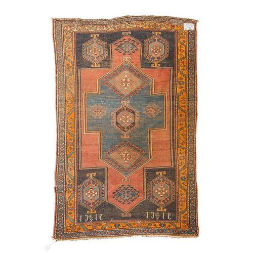 Orientteppich, KASAK, Oriental carpet, KASAK, 1916 dated, ca. 229/141 cm.  USSR,…