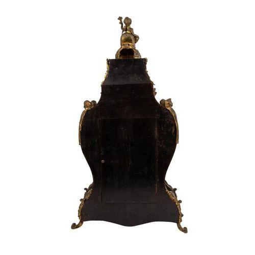 PENDULE IM BOULESTIL PENDULES IN BOULY STYLE Late 19th century, lavishly decorat…