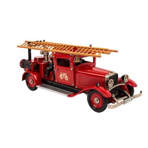 MÄRKLIN Feuerwehr Löschfahrzeug 19034, MÄRKLIN fire truck 19034, red lacquered s…
