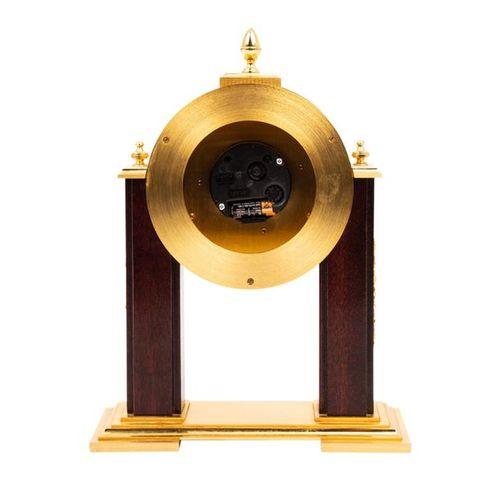 """TISCHUHR """"HOUR LAVIGNE"""" TABLE CLOCK """"HOUR LAVIGNE  Paris, 20th century, brass ca…"""