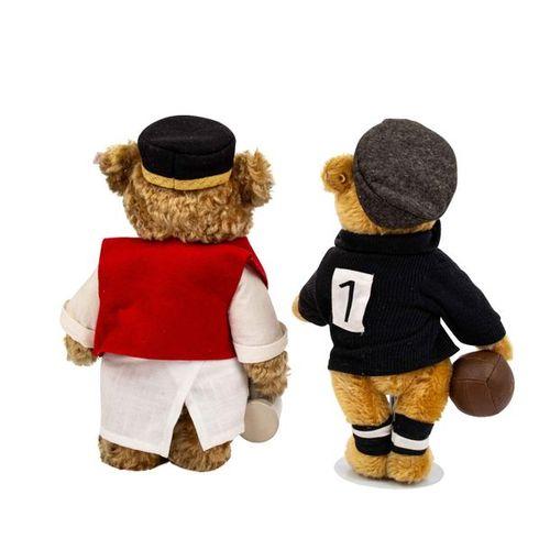 STEIFF zwei Bären aus Sonderserien, 2002 2004, STEIFF two special edition bears,…