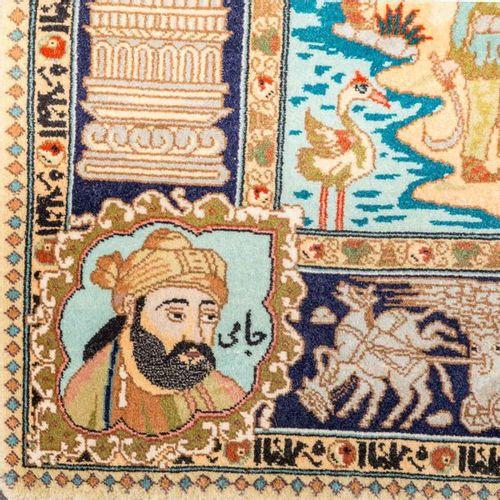 Orientteppich. PERSIEN, 20. Jh., 143x100 cm. Oriental Persian rug, 20th ct., 143…