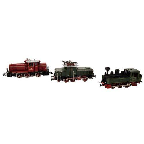 MÄRKLIN Konvolut von 3 Lokomotiven, Spur H0, MÄRKLIN convolute of 3 locomotives,…