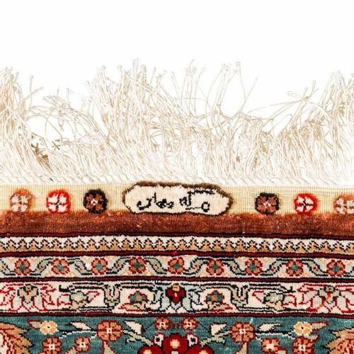 Orientteppich aus Seide. HEREKE, 20. Jh., 1980/90er Jahre, 150x100 cm. Oriental …