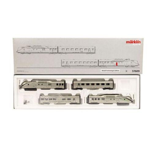 MÄRKLIN 4 tlg Diesel Triebzug 37609, Spur H 0, MÄRKLIN 4 part multiple unit 3760…