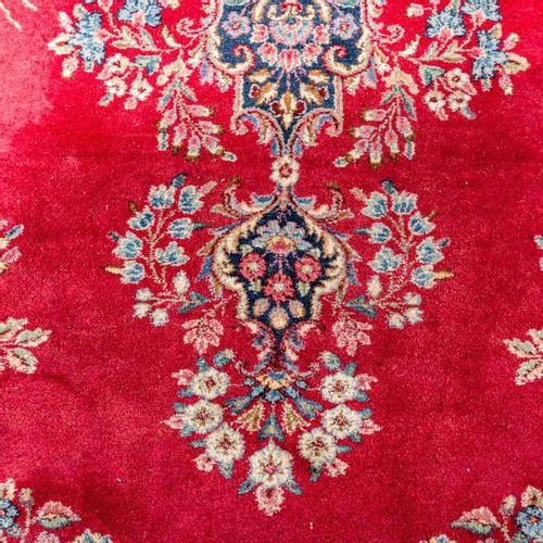 Orientteppich. KIRMAN/PERSIEN, 20. Jh., 452x288 cm. Oriental rug. Kerman/Persia,…