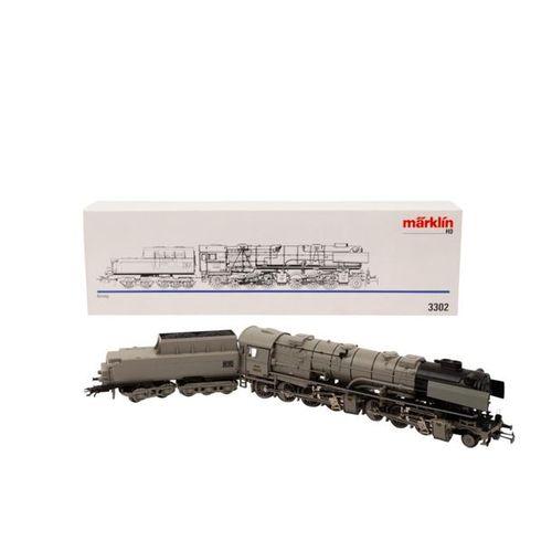 MÄRKLIN Dampflok 3302, Spur H0, MÄRKLIN steam locomotive, track H0, Borsig Malle…