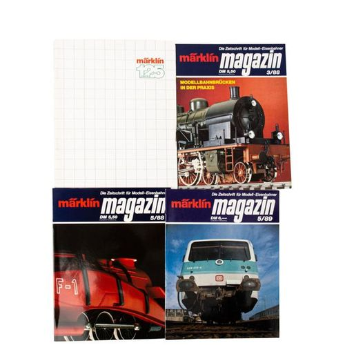 MÄRKLIN Schnittmodell einer Schlepptenderlok 37029 und Märklin Magazine, Spur H0…