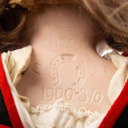 ERNST HEUBACH Porzellankopfpuppe, 1. H. 20. Jh. ERNST HEUBACH bisque head doll, …