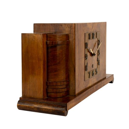ART DECO KAMINUHR ART DECO FIREPLACE CLOCK  Probably HEINRICH JOHANNES MOELLER (…