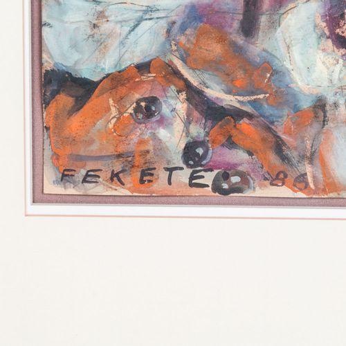 """FEKETE, ESTEBAN (1924 2009), """"In der Hafenkneipe"""", FEKETE, ESTEBAN (1924 2009), …"""