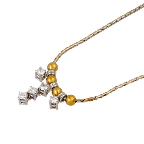 Schmuckkonvolut 5 teilig, 5 piece dealer's lot, 14K yellow and white gold, 14.8 …