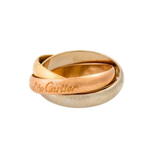 """CARTIER Ring """"Trinity"""" Les Must de Cartier, CARTIER Bague """"Trinité"""" Les Must de …"""