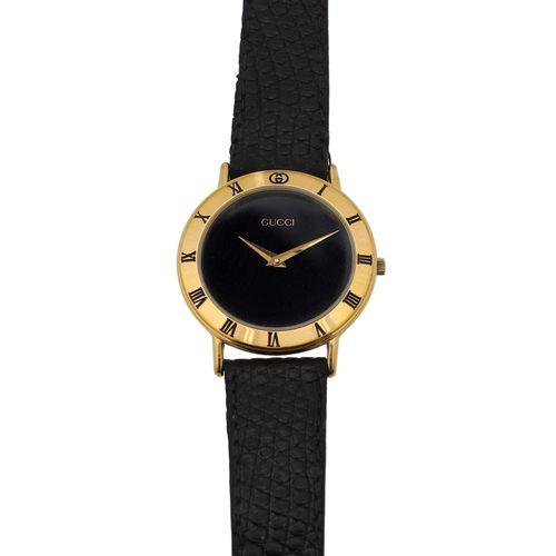 """GUCCI VINTAGE Armbanduhr """"3000.2.M"""". Montre bracelet GUCCI VINTAGE """"3000.2.M"""". B…"""