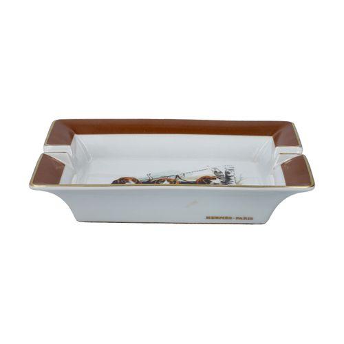 HERMÈS Dekoschale/Aschenbecher. Bol décoratif HERMÈS. Prix de détail 560€. Motif…