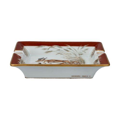 HERMÈS Dekoschale/Aschenbecher. HERMÈS decorative bowl. Retail price 590€. Centr…