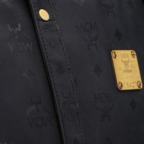 MCM VINTAGE Shopper. Shopper MCM VINTAGE. Synthétique noir avec structure logo, …