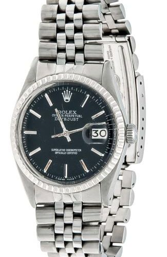 Rolex Oyster Perpetual datejust, men's watch ref. 1603, automatic running, circa…