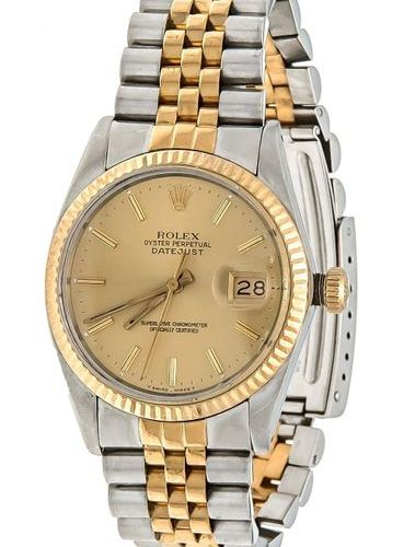 Rolex Oyster Perpetual Datejust, automatic chronometer running, men's watch ref.…