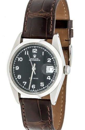 Rolex Oysterdate Precision, men's watch Ref. 6694 circa 1980, manual winding cal…
