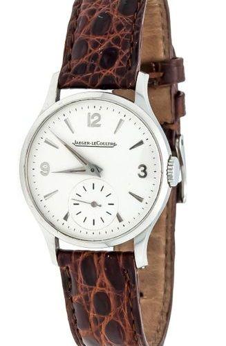 Jaeger leCoultre, men's watch circa 1950, manual winding cal. P469/A running, st…