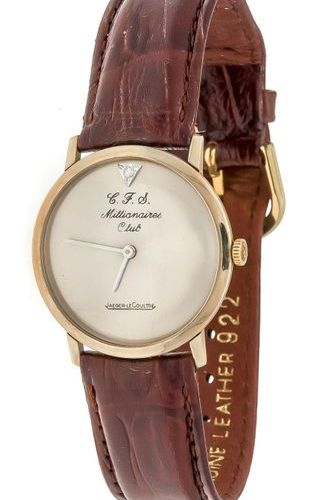 Jaeger leCoultre men's watch, C.F.S. Millionaires Club, Mod. 209 818 New York in…