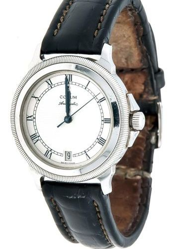 Corum men's wristwatch automatic, mod. 89.211.20, from April 2002, steel, screwe…
