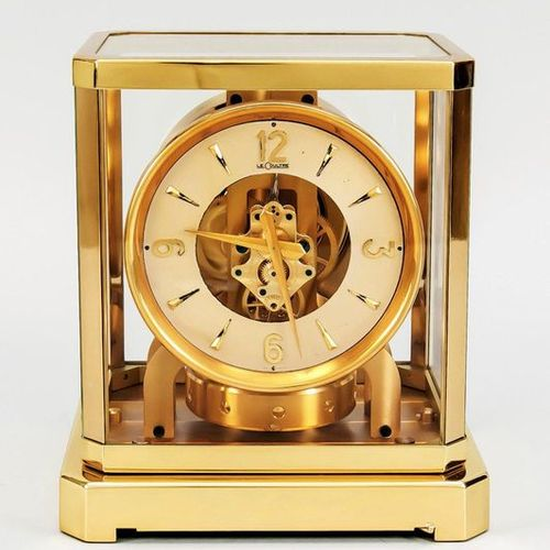 Jaeger le Coultre Atmos table clock, cal. 526, serial number 70737 around 1952, …
