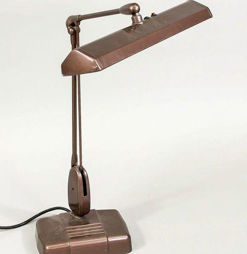 Mid Century desk lamp, USA, Model UL 2324 15 Dazor MFG. CORP. Steel/iron, metall…