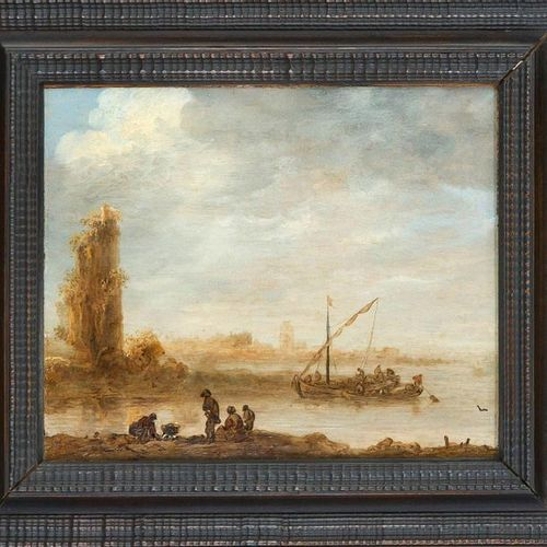 Jan van Goyen (1596 1656), main representative of Dutch landscape painting of th…