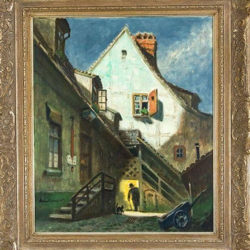 Bruno Bielefeld (1879 1973), German painter, etcher a. Lithographer, active in B…
