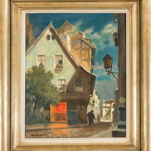 Bruno Bielefeld (1879 1973), German painter, etcher and lithographer, active in …