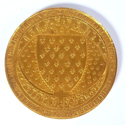 ALBERT DE JAEGER (1908 1992) SCULPTEUR MÉDAILLER  Médaille commémorative en bron…