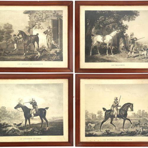 D'après Carle VERNET (1758 1836) et Philibert Louis DEBUCOURT (1765 1832)  Le dé…